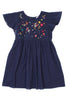 DAISY PINAFORE DRESS - 6 YRS