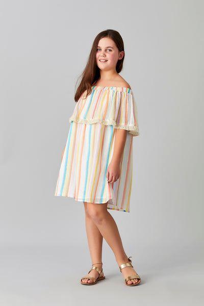LUREX CANDY DRESS