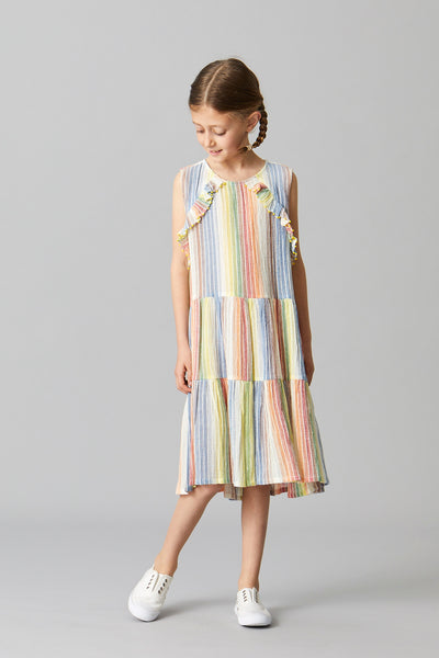 CANDY RUFFLE DRESS