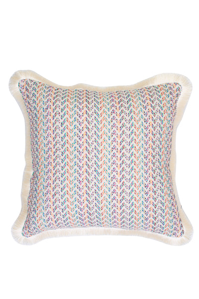 FRINGED MULTI CUSHION