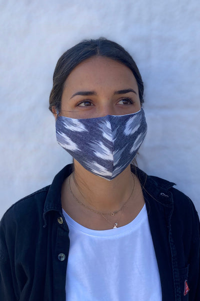 UNISEX IKAT FACE MASKS - 2 PACK