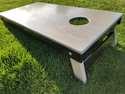 Arizona Cornhole Rentals - Rustic Grey Board Rental