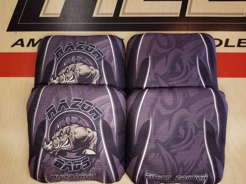 Razor Boss Hog <br> Grey Tribal <br> New Pro Cornhole Bags