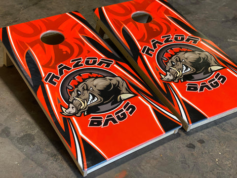 Official Razor Bags <br>Red<br> Tournament Boards