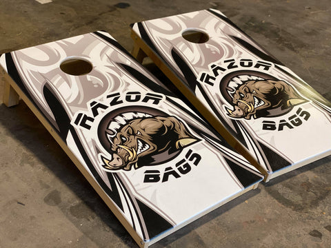 Official Razor Bags <br>White<br> Tournament Boards