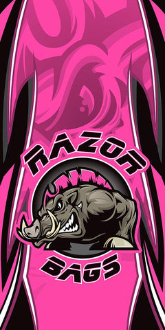 Official Razor Bags <br>Pink<br> Tournament Boards