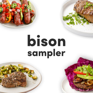 Straight Up Bison Sampler