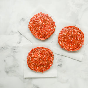 Bison Burger Patties | 3, 1/3 lb