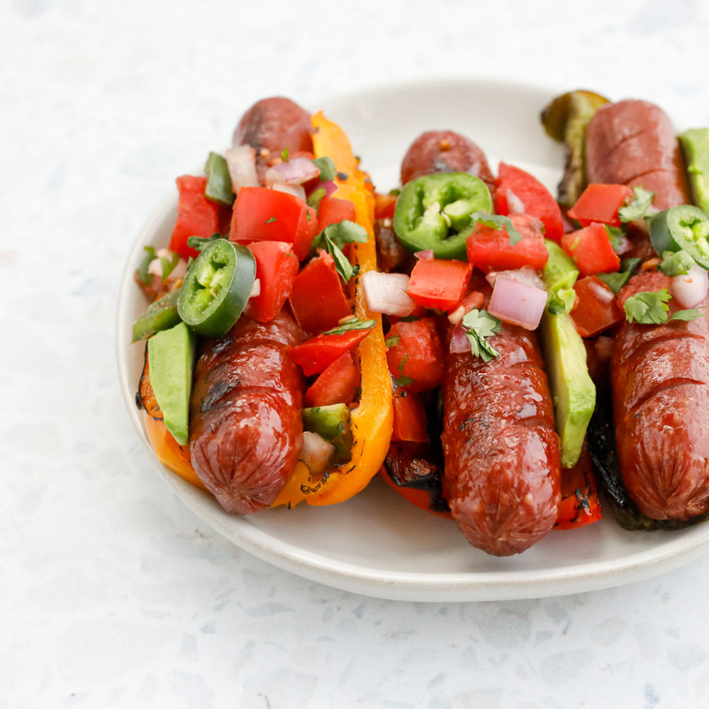 Bison Hot Dogs | 8, 2 oz