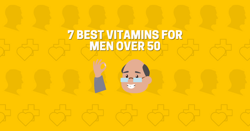 Vitamins For Women Over 50 Infograph