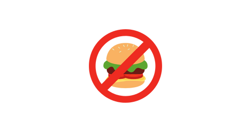 Do not eat fast food