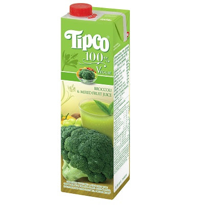 Broccoli & Mixed Fruit Juice