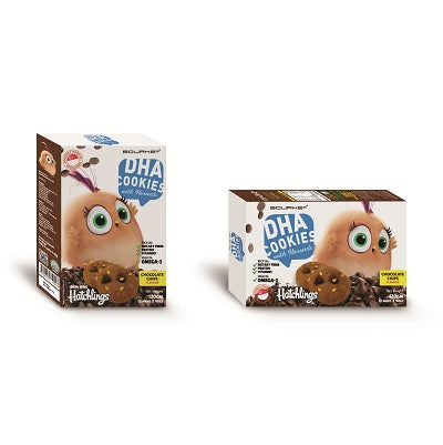 DHA Cookies w Flaxseeds Chocolate Flavour : Angry Bird Hatchlings