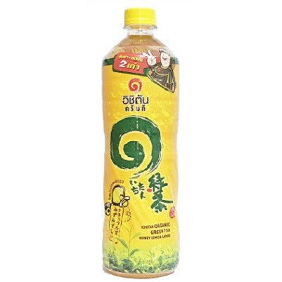 Ichitan Organic Green Tea Honey Lemon Flavour