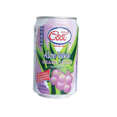 Ice Cool Aloe Vera Grape Juice wt Pulp