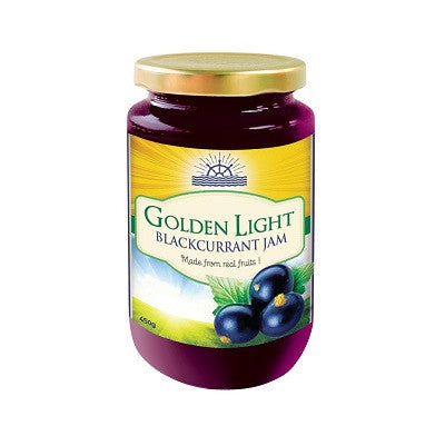 Golden Light Blackcurrant Jam