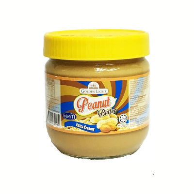 Golden Light Peanut Butter - extra creamy (small size)