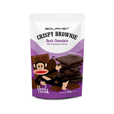 Crispy Brownies Dark Chocolate : Paul Frank