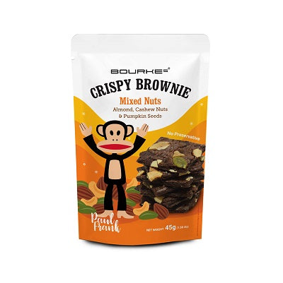 Crispy Brownies Mixed Nuts : Paul Frank