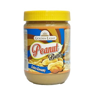 Golden Light Peanut Butter - extra creamy