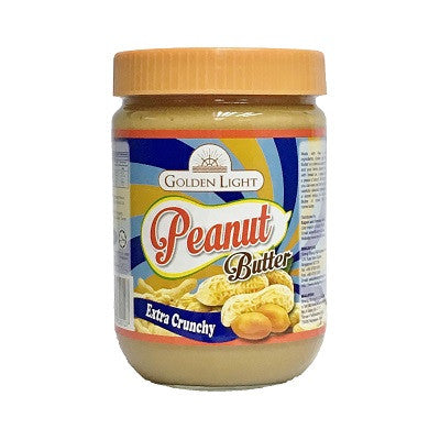 Golden Light Peanut Butter - extra crunchy