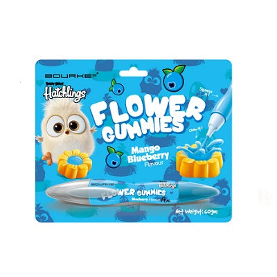 Flower Gummies Mango Blueberry Flavour : Angry Bird Hatchlings