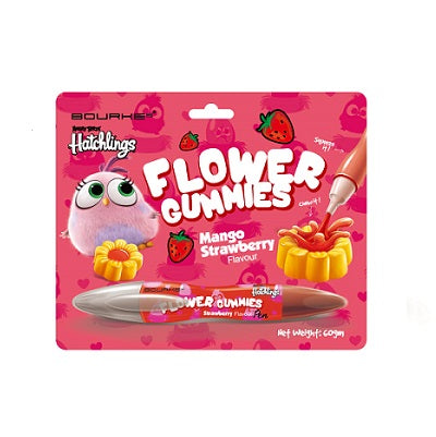 Flower Gummies Mango Strawberry Flavour : Angry Bird Hatchlings