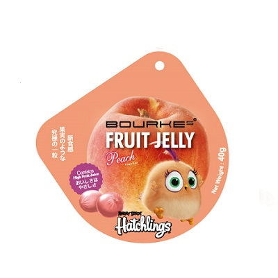 Fruit Jelly Peach Flavour : Angry Bird Hatchlings