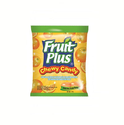 Fruit Plus Chewy Candy Orange