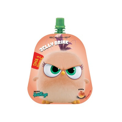 Jelly Drink (DHA+Vitamin C) Peach Flavour : Angry Bird Hatchlings