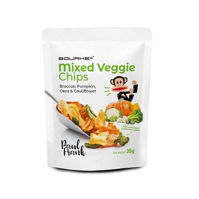 Mixed Veggie Chips : Paul Frank