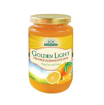 Golden Light Orange Marmalade Jam