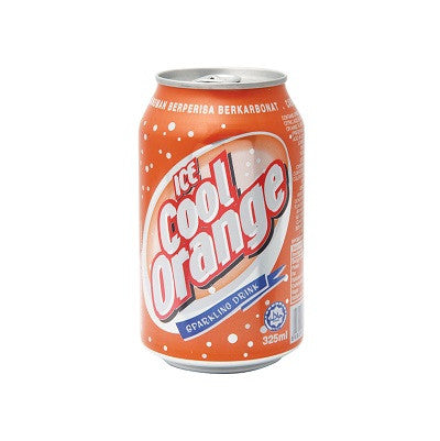 Ice Cool Carbonated Drink - Orange