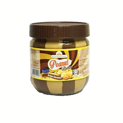 Golden Light Peanut Butter - Stripes Chocolate (small size)