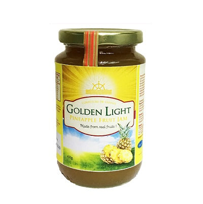 Golden Light Pineapple Jam