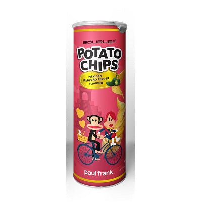 Potato Chips Mexican Jalapeno Pepper Flavour : Paul Frank