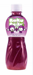 Raku Raku Grape Juice with Nata de Coco