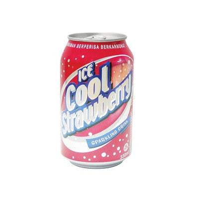 Ice Cool Carbonated Drink - Strawberry