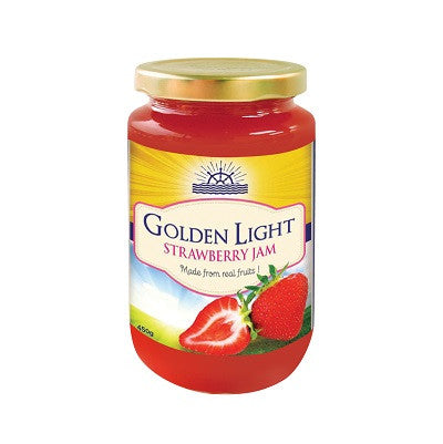 Golden Light Strawberry Jam