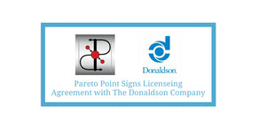 Pareto Point Industries Signs Licensing Agreement with The Donaldson Company