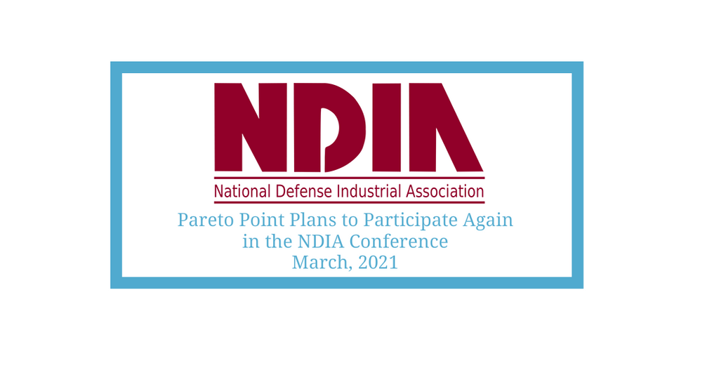 PARETO POINT INDUSTRIES (PPI) PLANS TO PARTICIPATE IN THE NATIONAL DEFENSE INDUSTRY ASSOCIATION'S (NDIA) TACTICAL WHEELED VEHICLE CONFERENCE
