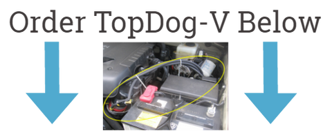 Order TopDog-V today, the most advanced bypass oil filtration system on the market for cars, trucks and more.