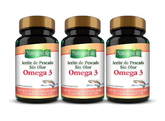 GRISI Pack Nature's Life Omega 3 Aceite Pescado