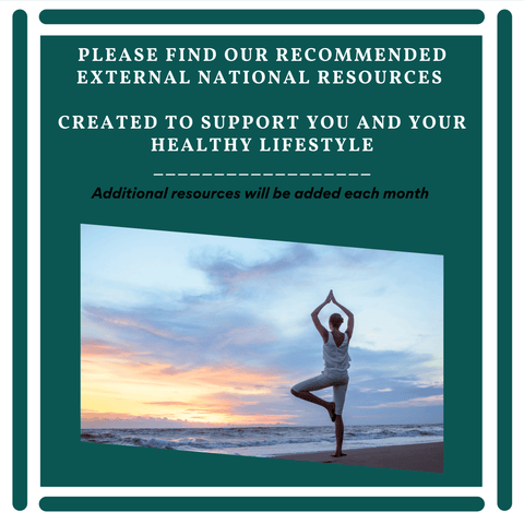 Find Health Education and Health Resources here at Health Control. A woman does yoga on the beach.