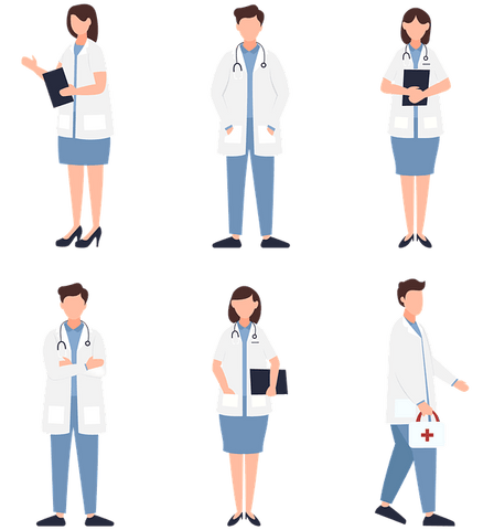 The team of clinicians based in a GP surgery