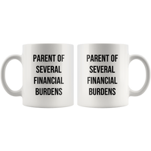 Load image into Gallery viewer, Parent Of Several Financial Burdens Mug