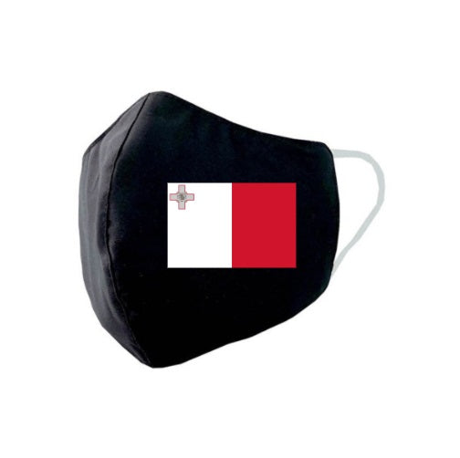 Malta Flag Face Mask