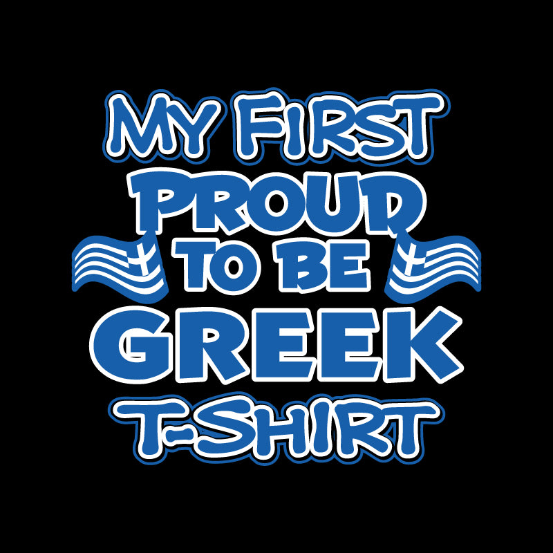 My first proud to be Greek