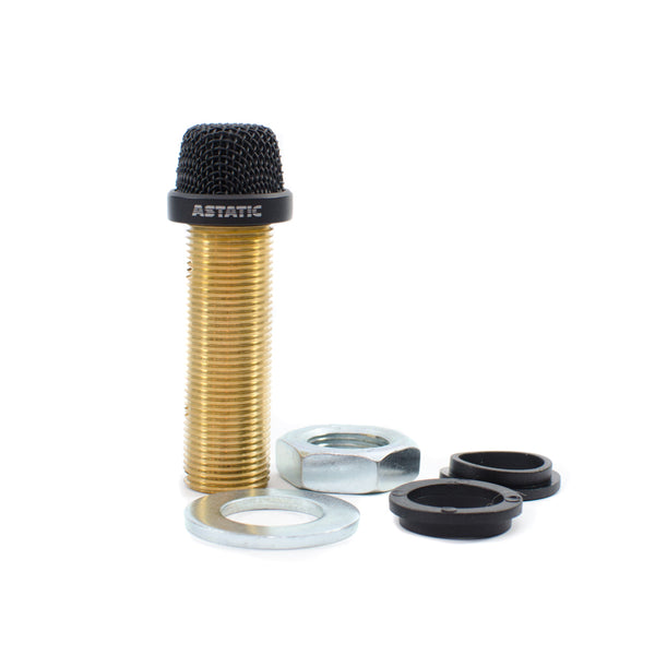 CAD Astatic Variable Polar Pattern Installation Boundary Button Microphone ~ Black