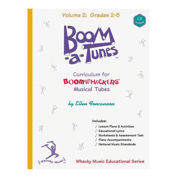Boomwhacker Boom-A-Tunes CD ~ Volume 2